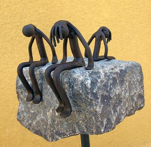 Escultura Infidelidad - Nono Martín