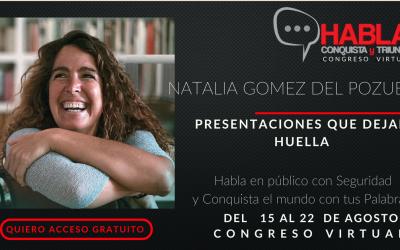 Congreso virtual: Habla, conquista y triunfa